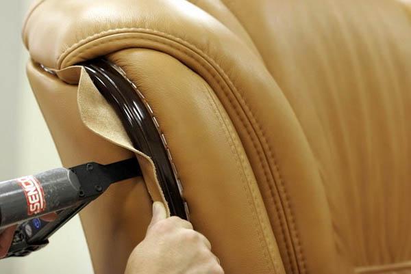 Обтяжка мебели своими руками